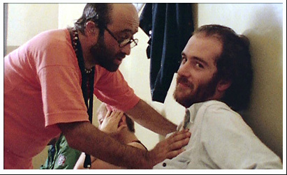 Lucio Dalla and Francesco De Gregori in Banana Republic tour in 1979