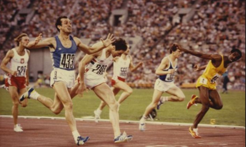 Sprinter Pietro Mennea