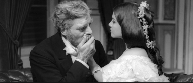 Burt Lancaster and Claudia Cardinale in Luchino Visconti's Il Gattopardo, from Tomasi di Lampedusa novel