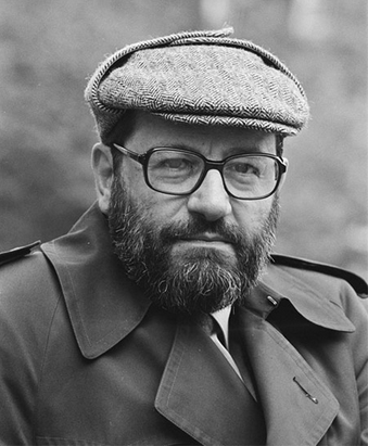 Writer Umberto Eco
