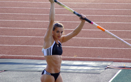 Yelena Isinbayeva preparation