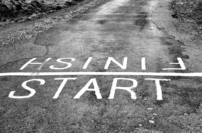 Every start has a finish