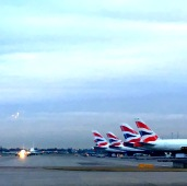 Heathrow airport, London