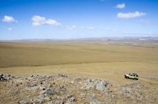 My Toyota Land Cruiser climbing
