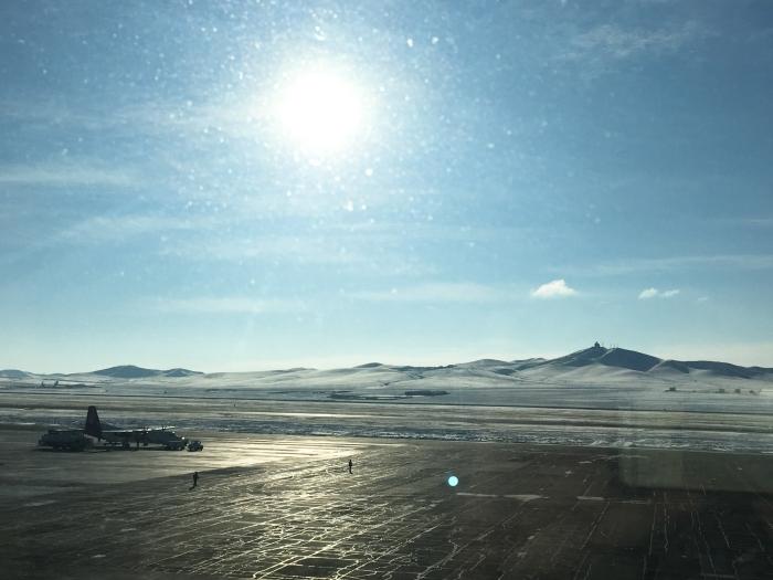 Ulaanbataar airport - January 2017