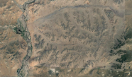 Gun-Galuut Nature Reserve - satellite view