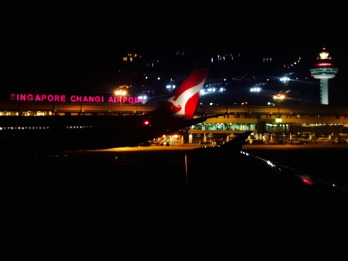 Qantas - Singapore Changi airport