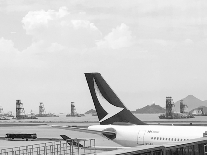 Cathay Dragon - Hong Kong International airport