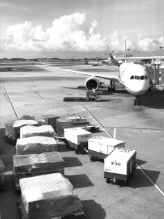 Unknown airline - Singapore Changi airport