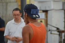 Tuna auction in Tsukiji market
