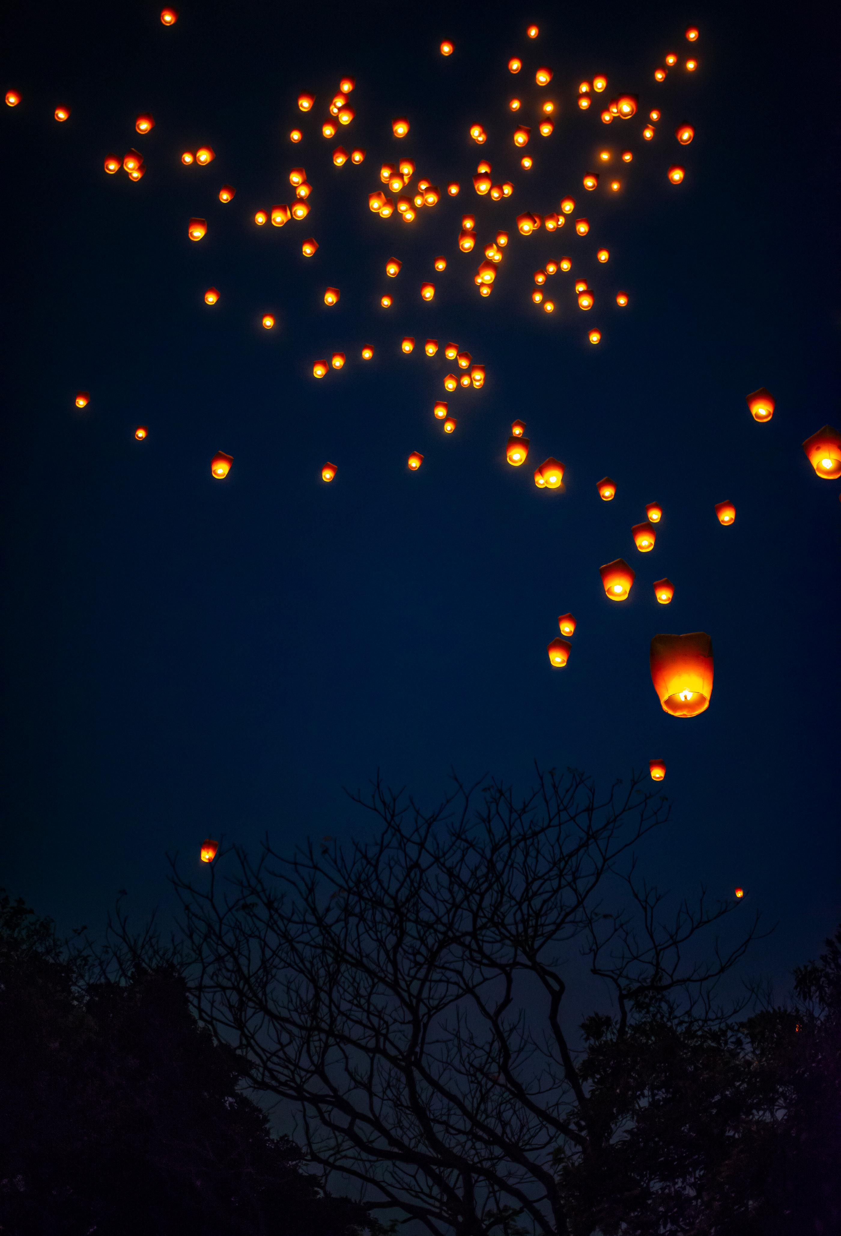 Pinxi lanterns