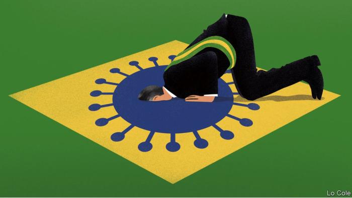 Jair Bolsonaro approach to COVID-19