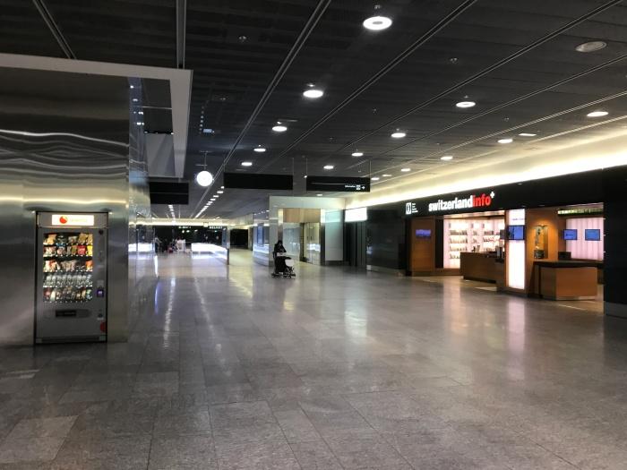 Zurich Airport - December 2020